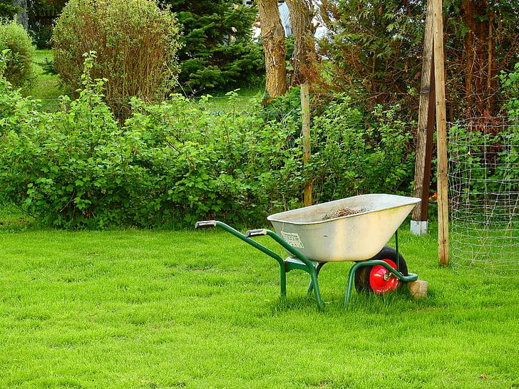 Duben na zahradě