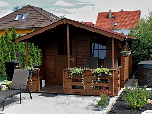 Zahradní domek Luka