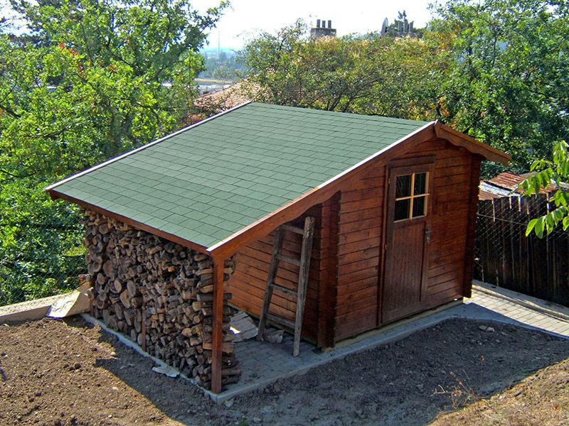 Zahradní domek na nářadí Albert EKO