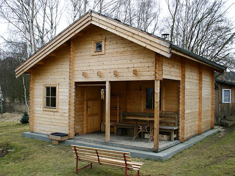 Vytápění zahradní dřevostavby