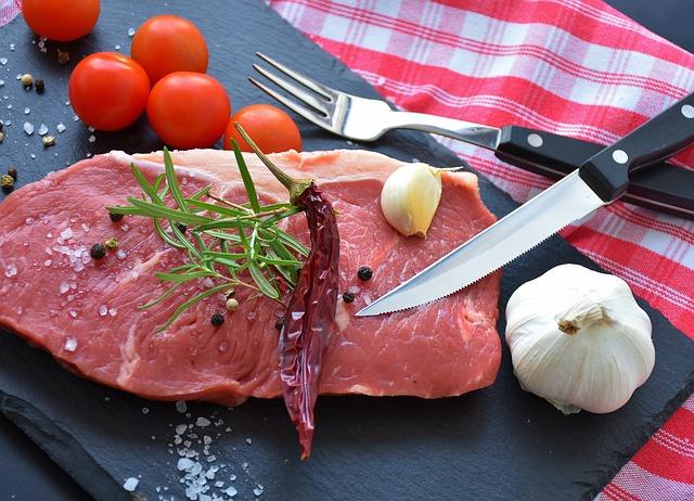 steak na gril