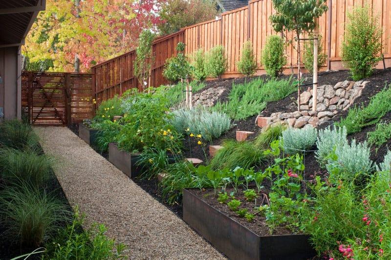 Zahrada ve svahu3