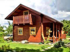 Dřevěné chaty pro rekreaci