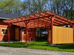 Garážová stání s pultovou střechou - Garážové stání Klasik