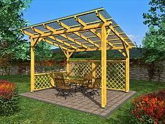 Zahradní pergoly a altány - Pergoly Standard