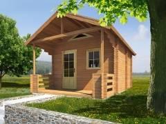 Zahradní chatky - Rekreační chata Ellen