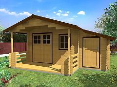 Zahradní domky - Zahradní chatky Camping EKO