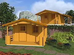 Zahradní domky EKONOMIK - cenově výhodné domky - Zahradní chatky Luka EKO