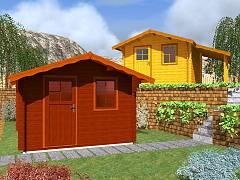 Zahradní domky EKONOMIK - cenově výhodné domky - Zahradní domky Laura EKO