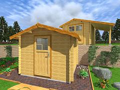 Zahradní domky EKONOMIK - cenově výhodné domky - Zahradní domky na nářadí Albert EKO