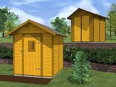 Zahradní domky EKONOMIK - cenově výhodné domky - Zahradní domky na nářadí Felix a NPD