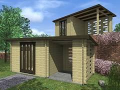Zahradní domky - Zahradní domky na nářadí Kamal<br> a Toby EKO