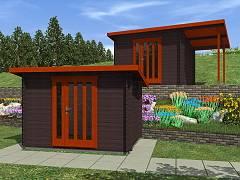 Zahradní domky EKONOMIK - cenově výhodné domky - Zahradní domky na nářadí Kevin EKO