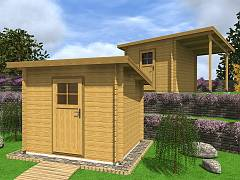 Zahradní domky na nářadí - Zahradní domky na nářadí Robin