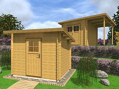 Zahradní domky EKONOMIK - cenově výhodné domky - Zahradní domky na nářadí Robin EKO