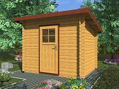 Zahradní domky - Zahradní domky na nářadí Robin EKO