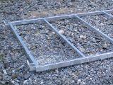 Pozinkovaný ocelový rám 350x350 cm