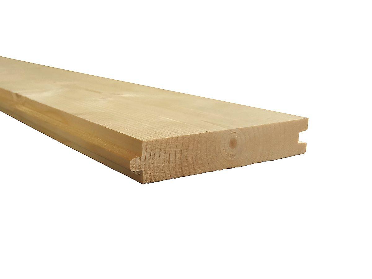 Podlahové palubky - Podlahové palubky SMRK 27x146x4000, kvalita A/B