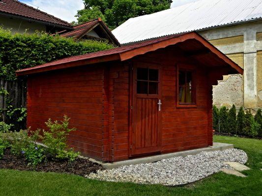 Zahradní domky Laura EKO - Laura EKO 350x250 28 mm