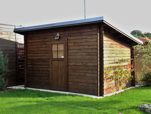 Zahradní domky na nářadí Robin EKO - Robin EKO 350x200 28 mm