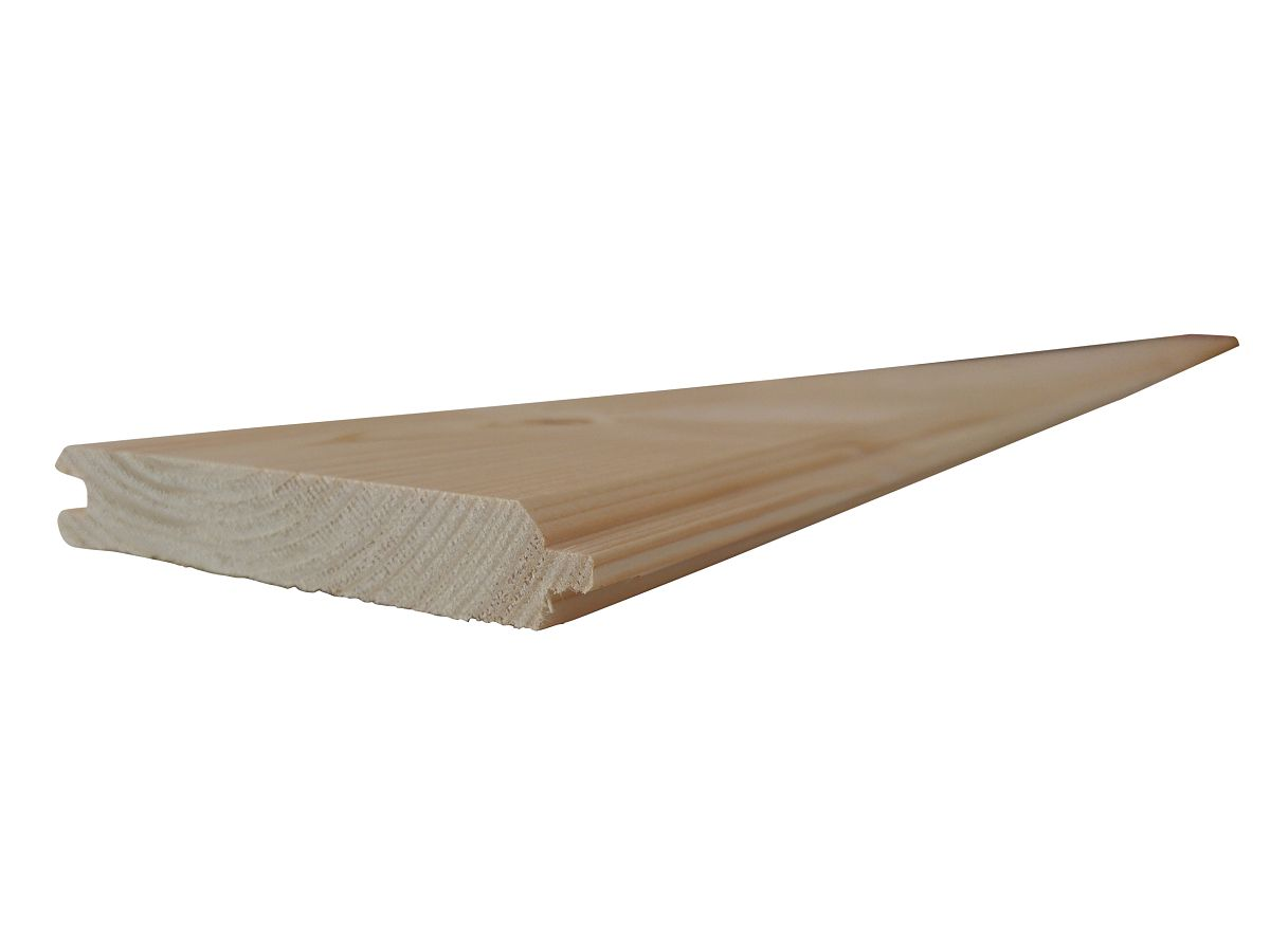 Palubky obkladové SMRK<br> síla 19 mm - Obkladové palubky SMRK 19x116x3000, kvalita A/B, krátké pero - klasik