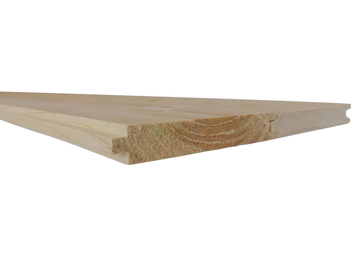 Podlahové palubky - Podlahové palubky severský SMRK 19x96x5100, kvalita A/B