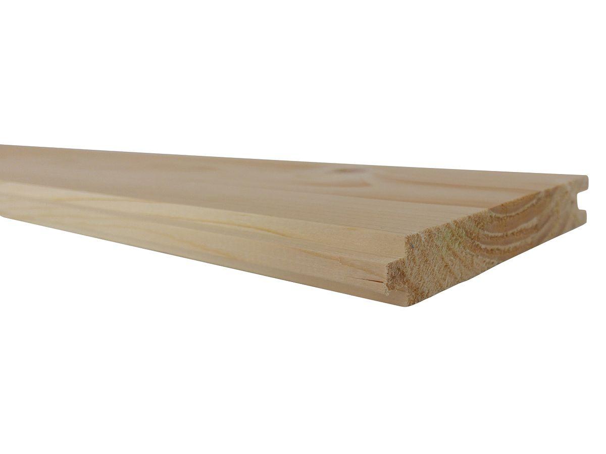 Podlahové palubky - Podlahové palubky SMRK 19x116x4000, kvalita A/B
