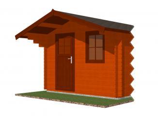 Čelní přesah střechy 400x100