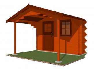Čelní přesah střechy 450x215