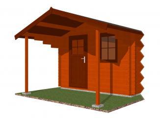 Čelní přesah střechy 500x170