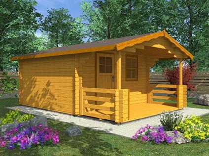 Zahradní chatky Luka EKO - Luka EKO 350x250 28 mm