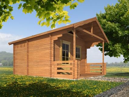 Rekreační chata Ellen (12 -16 m2) - Ellen I 350x350 28 mm s terasou
