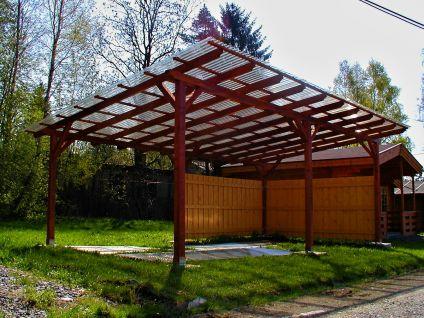Garážové stání Klasik - Garážové stání Klasik 350x400 - sklon 10°