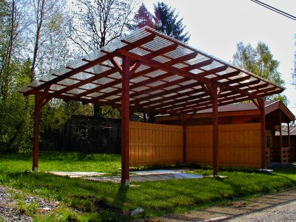 Garážové stání Klasik - Garážové stání Klasik 692x400 - sklon 10°