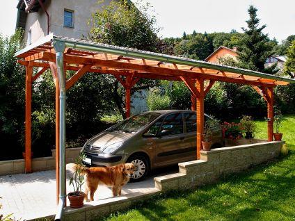 Garážové stání Standard - Garážové stání Standard 300x570 - sklon 10°