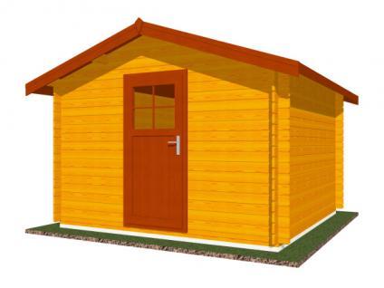 Zahradní domky na nářadí Albert - Albert 300x300 28 mm
