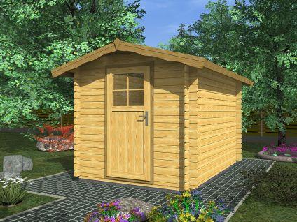 Zahradní domky na nářadí Albert - Albert 200x200 28 mm