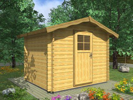 Zahradní domky na nářadí Albert EKO - Albert EKO 250x250 28 mm