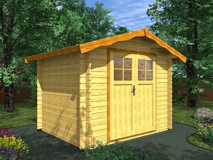 Zahradní domky na nářadí Albert EKO DD - Albert EKO DD 250x250 28 mm