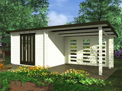 Zahradní domky na nářadí Kamal EKO - Kamal 1 EKO 300x250 28 mm