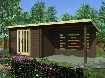 Zahradní domky na nářadí Kamal EKO - Kamal 2 EKO 300x250 28 mm