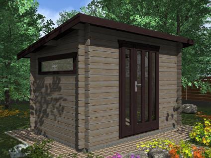 Zahradní domky na nářadí Kevin EKO - Kevin EKO 300x250 28 mm