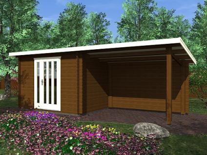 Zahradní domky na nářadí Kamal<br> a Toby EKO - Toby 1 EKO 300x200 28 mm