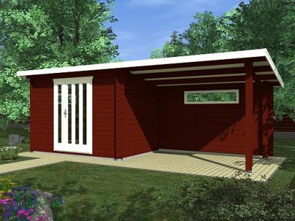 Zahradní domky na nářadí Toby EKO - Toby 2 EKO 300x200 28 mm