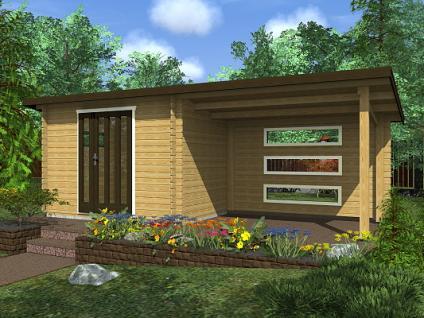 Zahradní domky na nářadí Toby EKO - Toby 3 EKO 300x200 28 mm