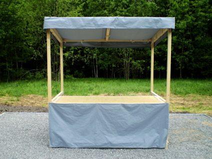 Plátěný stánek - stánek plátěný 200x150