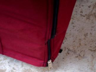 Zip + našití zipu (spojení zad s boky)