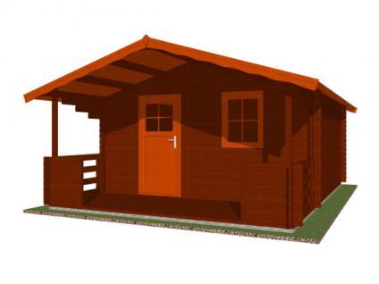 Zahradní chatky Luka - Luka 400x400 33 mm