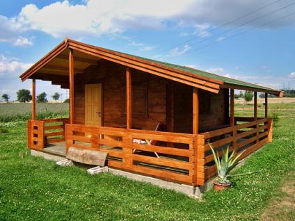Zahradní chatky Relax - Relax 400x400 33 mm