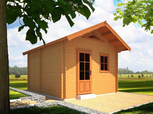 Rekreační chata Ellen (12 -16 m2) - Ellen II 350x400 33 mm